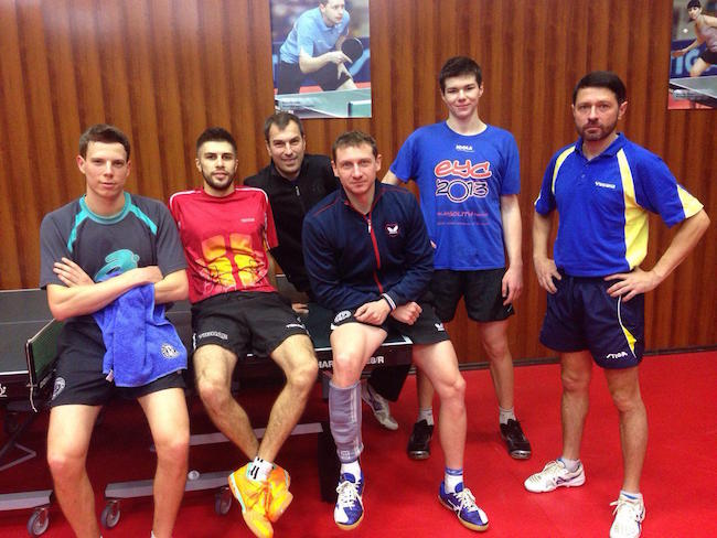 Team Fortuna for ETTU Cup stage 3